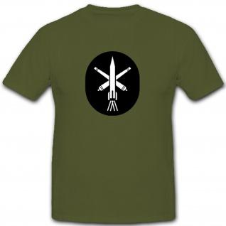 Raketentruppen und Artillerie Abzeichen NVA DDR Militär Emblem - T Shirt #7929