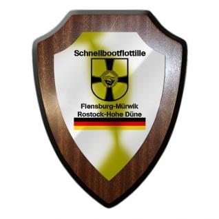 SFltl Schnellbootflottille Einsatzflottille Bundesmarine Wandschild #27300