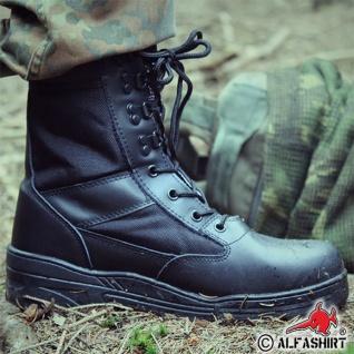 Kommando Einsatz Stiefel Tactical Springerstiefel schwarz Polizei Security#15975 - Vorschau 3