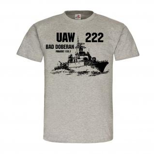 UAW 222 Bad Doberan Projekt 133 1 Besatzung Crew Schiff Volksmarine Marine#24853