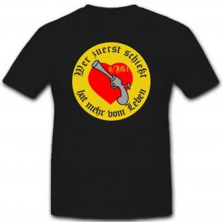 9/JG 1 9. Staffel Jagdgeschwader 1 WK 2 Wh Luftwaffe Wappen Emblem - T Shirt #1714