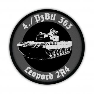 Patch / Aufnäher - 4.PzBtl 363 Leopard 2A4 Panzer Kompanie #13144