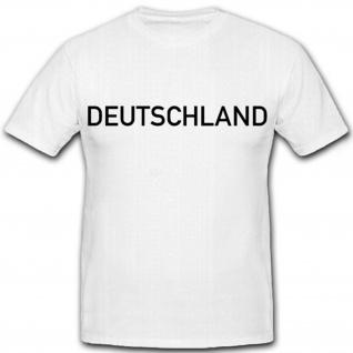 Deutschland BRD Bundesrepublik Deutschland Fan Fußball - T Shirt #7008