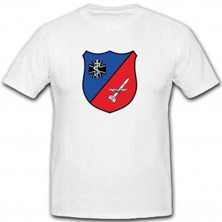 SanStff FlaRakGrp 24 - Bundeswehr Luftwaffe Wappen Einheit - T Shirt #10443
