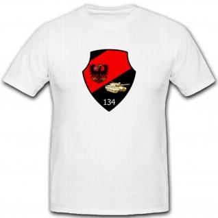 PzBtl134 Bundeswehr Wappen Militärische Einheit- T Shirt #6404