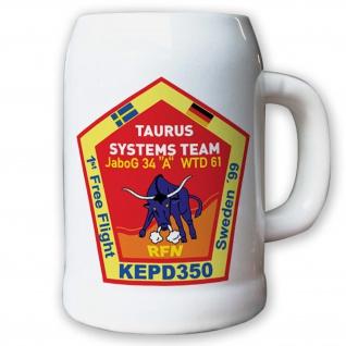 Krug / Bierkrug 0, 5l - JaboG 34 A WTD 61 Taurus Systems Team Emblem #8665