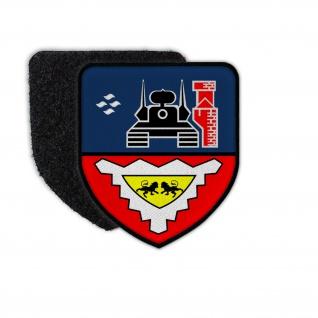 Patch FlaRgt 6 Flugabwehr Wappen Flausch Gepard Lütjenburg Ostsee #30742