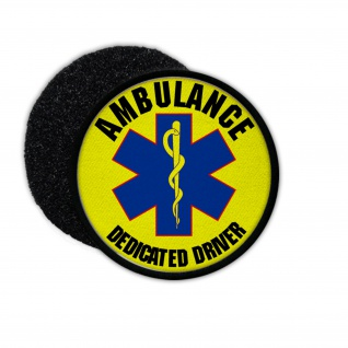Patch Abulance Dedicated Driver Emergency Medical Services Care #33682