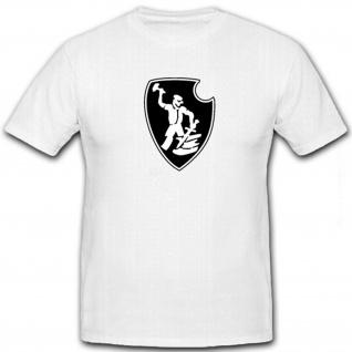 Spzabt 507 Logo Schmied Schild Schwert Tiger Panzer Taktisches - T Shirt #12654