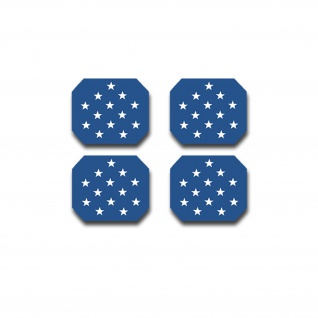 US MOH Star Set Medal of Honor USA Amerika Sticker 4x 3x2, 5cm #A4460