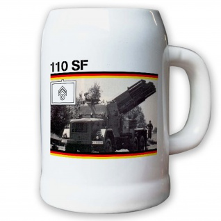 Leichtes Artillerieraketensystem LARS 110 SF - Krug / Bierkrug 0, 5l #10675