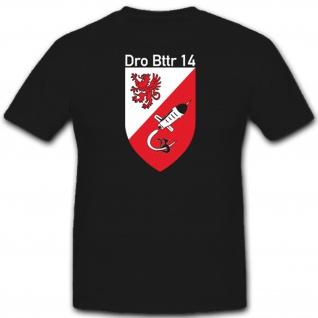 Dro Bttr 14 Drohnenbatterien Bundeswehr Militär Einheit Wappen - T Shirt #2773