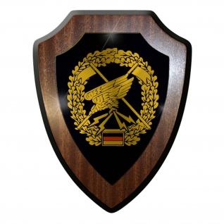 Wappenschild / Wandschild -Fernspäher Deutschland Bundeswehr Militär #7409