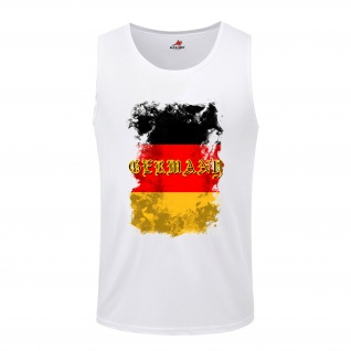Germany Germania German Deutschland BRD Fahne Flagge Flag- Tanktop / #5279