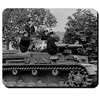 Tank 4 Besatzung Panzer Panzermänner Panzerkampfwagen Foto - #14199