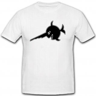 Wappen Abzeichen WK Sägefisch Deutschland U Boot- T Shirt #3845