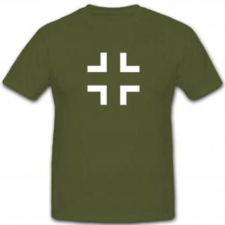 Balkenkreuz BK WK WH Militär Bundeswehr Abzeichen Emblem Wappen - T Shirt #3284