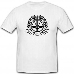 Israel Armee Wappen Einheit Militär Abzeichen Emblem- T Shirt #4379