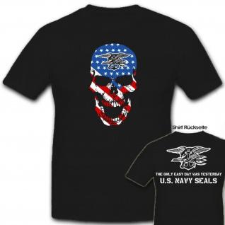U.S. Navy Seals Skull USA Amerika Army Seal United States - T Shirt #6888