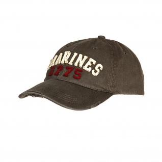 US MARINES 1775 BASEBALL CAP USA Amerika Kappe Mütze USMC Marine USA #17213