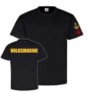 Volksmarine Funkmess Obermaat NVA Marine Sonderausbildung DDR - T Shirt #18744