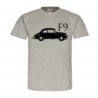 IFA F9 Auto Oldtimer Fan DDR Ost-Deutschland 50er 60er Jahre KFZ T-Shirt #24505