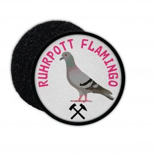 Patch Ruhrpott Flamingo Taube Ruhrgebiet Pott Humor Dortmund Zeche Bochum #31939