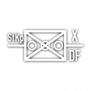 Taktisches Zeichen StKp Deutsch Französische Brigade Stabs Kompanie 32x13cm#4702