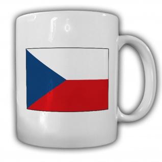 Tasse Tschechische Republik Fahne Flagge Kaffee Becher #13950
