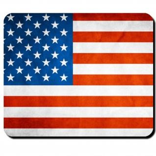 Stars and Stripes-USA Amerika Fahne Flagge Mauspad ALFASHIRT - #7711