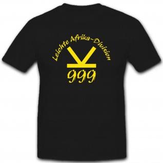 Leichte Afrika Division Div 999 Deutschland - T Shirt #7367