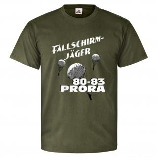 Fallschirmjäger PRORA Fallschirmspringer DDR NVA Soldat T Shirt #26214