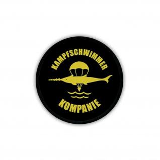Patch Kampfschwimmer Kompanie BW Marine Wappen Abzeichen Spezialkräfte #18316
