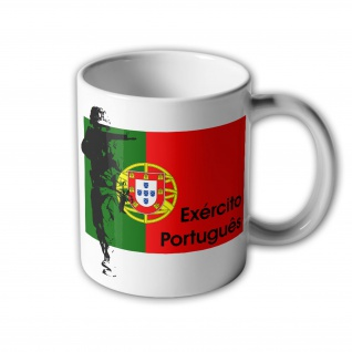Exército Portugues Portugiesisches Heer Portugal Army Militär Armee Tasse #33414