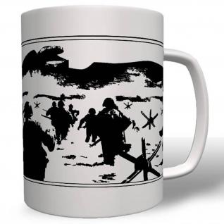 D-Day Normandy Beach After War - Tasse Becher Kaffee #2505