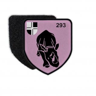 Patch PzBtl 293 Panzerbataillon Wappen Bundeswehr #35440
