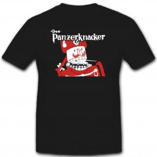 Der Panzerknacker Wk Wh Comic Zeichentrick Fun Humor - T Shirt #3180