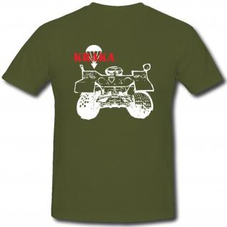 Kraka Quad Bundeswehr Militär Fahrzeug Transport - T Shirt #263