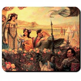 Legende von Lancelot Sir Lancelot Guinevere König Artus Legende Mauspad #16215