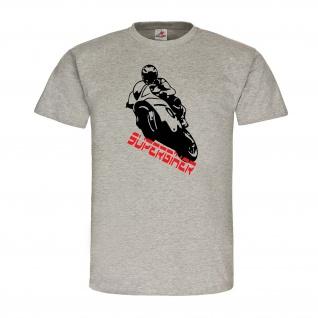 Superbiker Superbike Rennsport Supermoto Straßenmotorrad Biker Streetfighter #22618