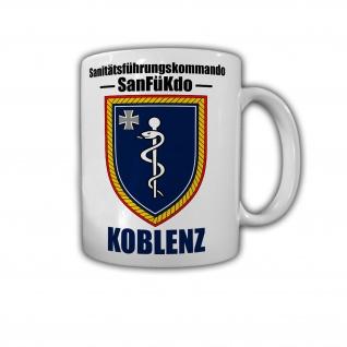 Sanitätsführungskommando BW Koblenz SanFüKdo Wappen Abzeichen Tasse #29155