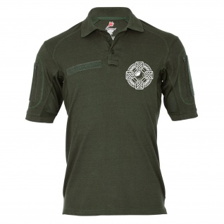 Tactical Polo Celtic Cross Kelten Keltisches Kreuz Irland Mythologie #21829