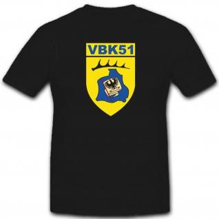 Vbk51 Verteidigungsbezirkskommando 51 Bundeswehr Militär Einheit T Shirt #3375