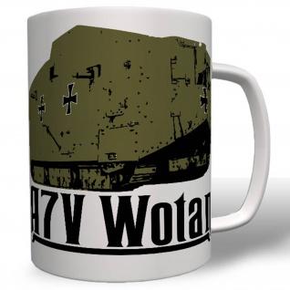 A7V Wotan Militär Heer Wh Wk Kampfpanzer Tasse #16637