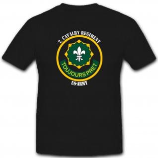 Us Army Us Kavallerieregiment Militär Schulterabzeichen Eskadron - T Shirt #2313