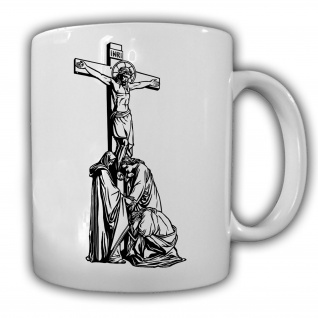 Kruzifix Gekreuzigter Jesus Christi Religion Glaube Bibel Tasse #27589