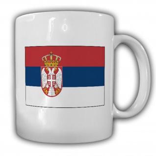 Republik Serbien Fahne Flagge Kaffee Becher Tasse #13892