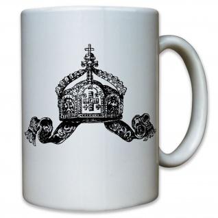 Deutsche Krone Kaiserreich Kaiser Wilhelm Deutschland Preußen Tasse #12322