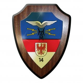 Wappenschild / Wandschild / Wappen - Fernmelderegiment 14 FmReg -#11692