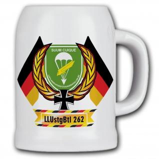 Bierkrug LLUstgBtl 262 Luftlandeunterstützungsbataillon Fallschirmjäger #11849